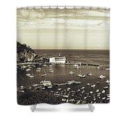 Avalon Harbor - Catalina Island, California Shower Curtain
