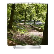 Blackbury Camp Shower Curtain