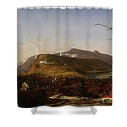 Catskill Mountain House Shower Curtain