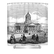 Charleston, 1857 Shower Curtain