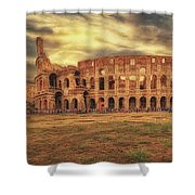 Colosseo, Rome Shower Curtain