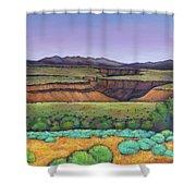 Desert Gorge Shower Curtain