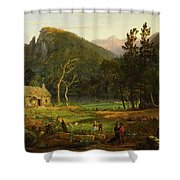 Eagle Cliff, Franconia Notch, New Hampshire Shower Curtain