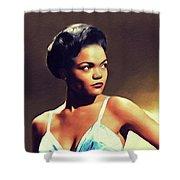 Eartha Kitt, Hollywood Legend Shower Curtain