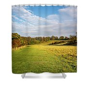 Easby To Richmond Shower Curtain