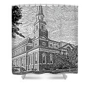 First Baptist Church Columbia Shower Curtain