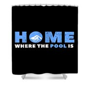 Funny Swimming Swimmer Swim Lifeguard Mermaid Shower Curtain