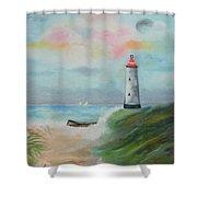 Hickering Harbor Shower Curtain
