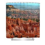 Hoodoo's Bryce Canyon  Shower Curtain