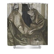 Incense  Shower Curtain
