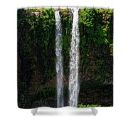 Mauritius. The 90 Meter High Twin Shower Curtain