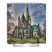 Nidaros Cathedral Shower Curtain