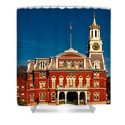 Norwich City Hall Shower Curtain