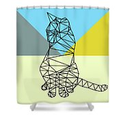 Party Cat Shower Curtain
