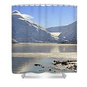 Portage Lake Alaska Shower Curtain