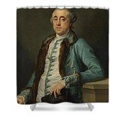 Portrait Of John Scott Of Banks Fee  Shower Curtain