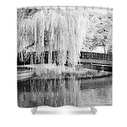 Reflections Of The Landscape Shower Curtain