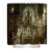 Salome Dancing Before Herod Shower Curtain