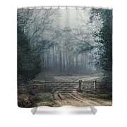 Sloden Inclosure - England Shower Curtain