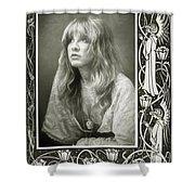 Stevie Nicks Fleetwood Mac Shower Curtain
