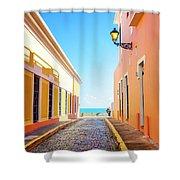 Streets Of San Juan - Puerto Rico Shower Curtain
