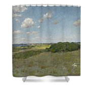 Sunlight And Shadow, Shinnecock Hills Shower Curtain