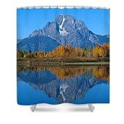 Teton Mountains Shower Curtain