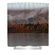 The Basin In Maine Shower Curtain
