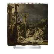 The Lamentation Over The Dead Christ  Shower Curtain