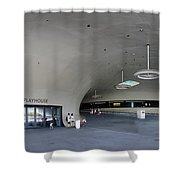 The New Art Center In Taiwan Shower Curtain