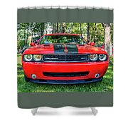 2008 Dodge Challenger 500 Shower Curtain