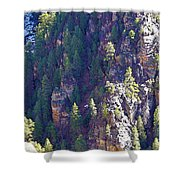 2014 Valentine Mountain Trip Shower Curtain