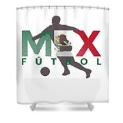 2018 Soccer Cup Mexico Flag Mex Championship Iso Shower Curtain