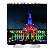 2019 Civic Center Denver Shower Curtain