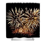 Firework Display Shower Curtain