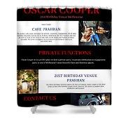 21st Birthday Venue Melbourne Shower Curtain