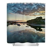 The Bass River Shower Curtain