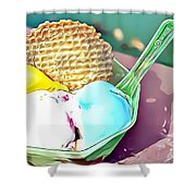 27 Eat Me Now  Shower Curtain
