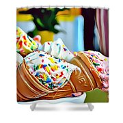 28 Eat Me Now  Shower Curtain