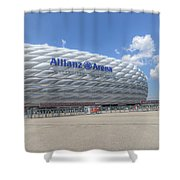 Allianz Arena Munich  Shower Curtain