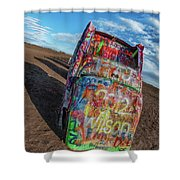 Cadillac Ranch Shower Curtain