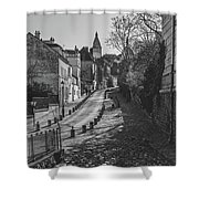 Exploring Paris Shower Curtain