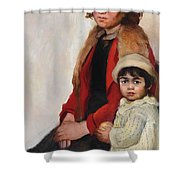 Madre E Figlia Shower Curtain