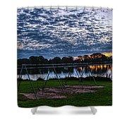 Obear Park Sunset Shower Curtain