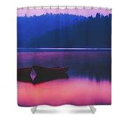 Quiet Dawn Shower Curtain