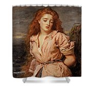 The Martyr Of The Solway Shower Curtain