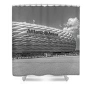 Allianz Arena Munich  Shower Curtain
