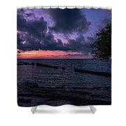 Cool Autumn Evening Shower Curtain