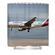 Eurowings Airbus A319-112 Shower Curtain