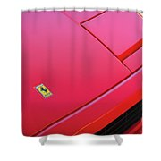 #ferrari #testarossa #print Shower Curtain by ItzKirb Photography